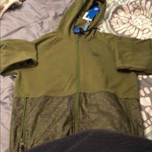 BNWT adidas Zip up hoodie